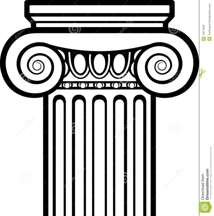 Rome clipart greek pillar. Best images on