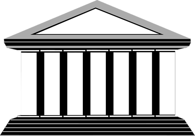 Free buildings pictures download. Vector roof greek building image library