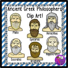 Rome clipart philosophers. Ancient greeks and romans