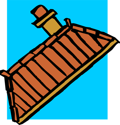 Vector roof rooftop. Sock hip hop clipart