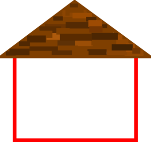 roofing vector roof outline