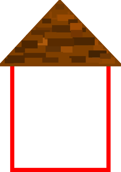 Roof clipart clip art. Tall house w at