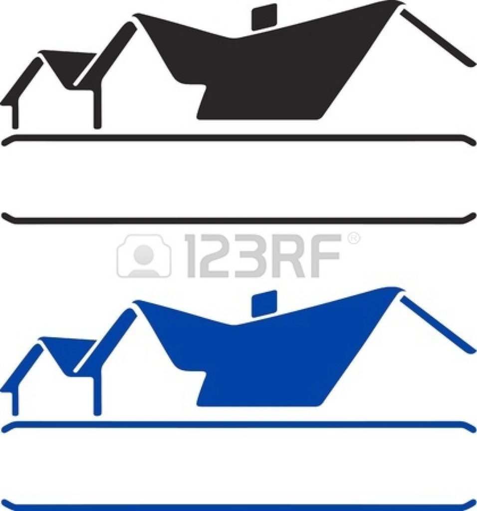 Roof clipart clip art. House outline sign x
