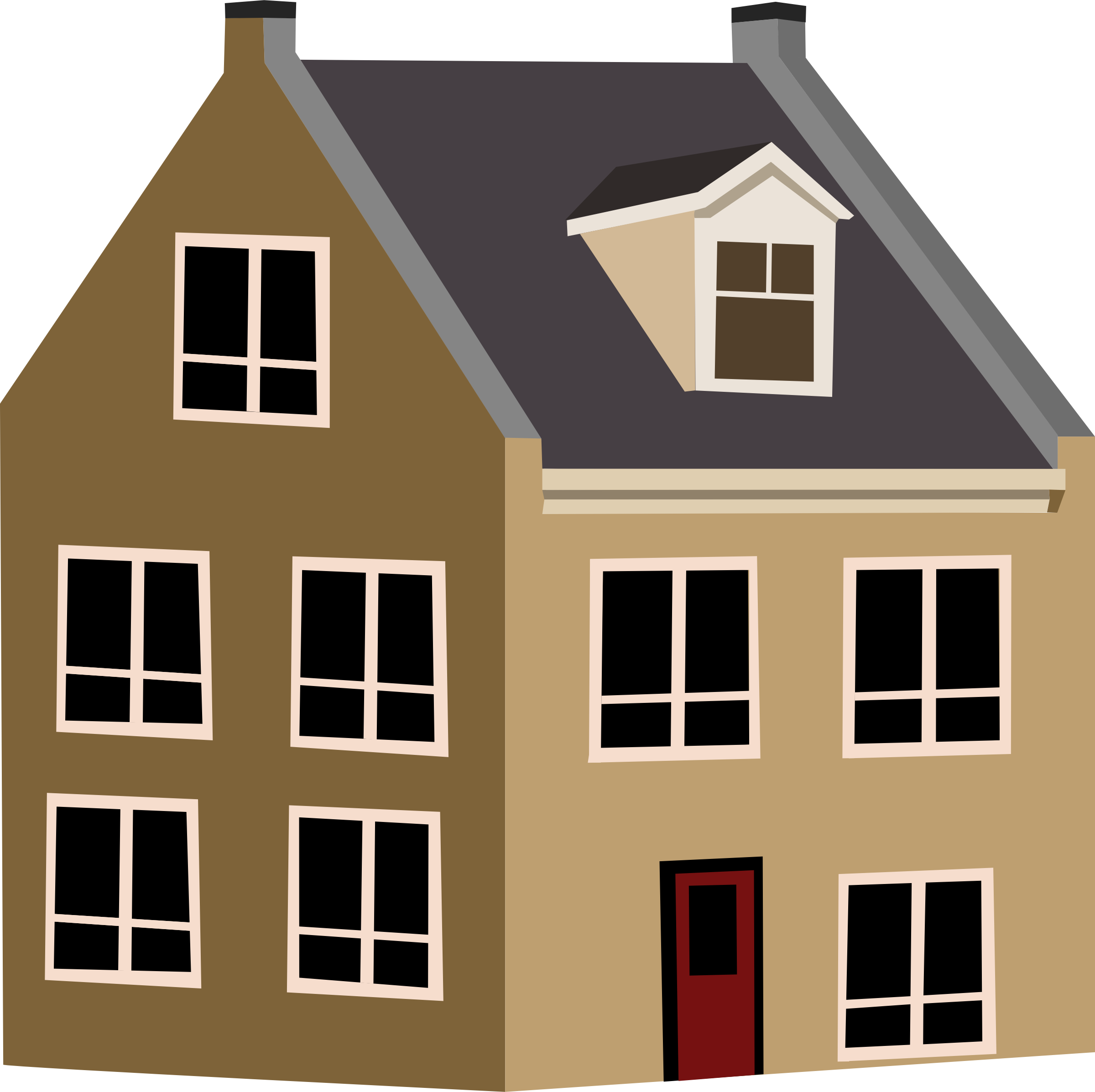 cottage vector small house