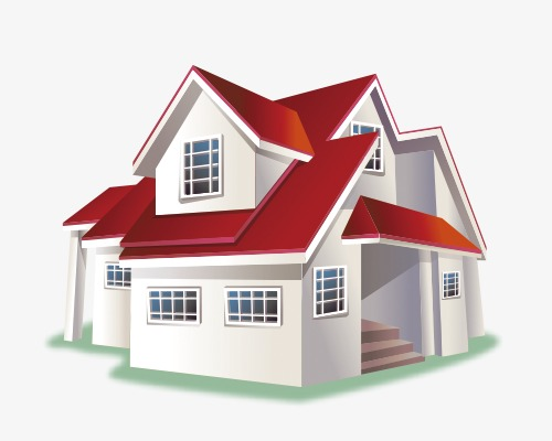 roof clipart residential house