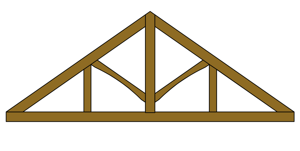 roof clipart roof truss