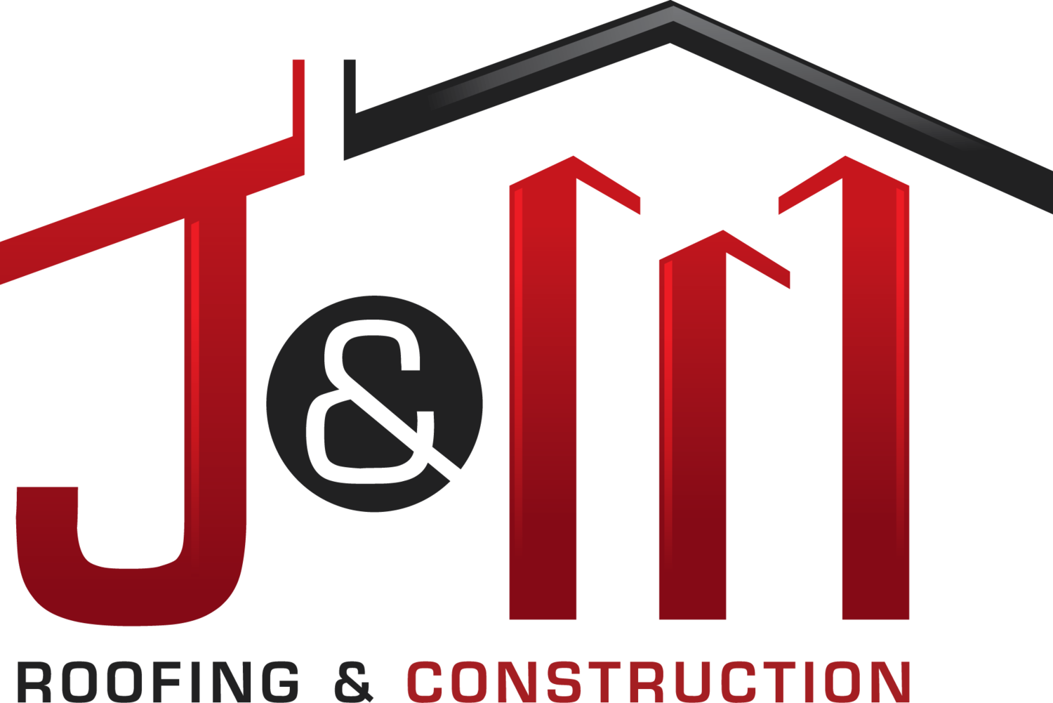 Roofing clipart building contractor. J m construction