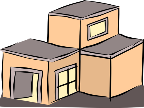 Rooftop vector animated. Free cartoon roof cliparts