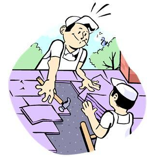 Roofing clipart cartoon. Roof at getdrawings com