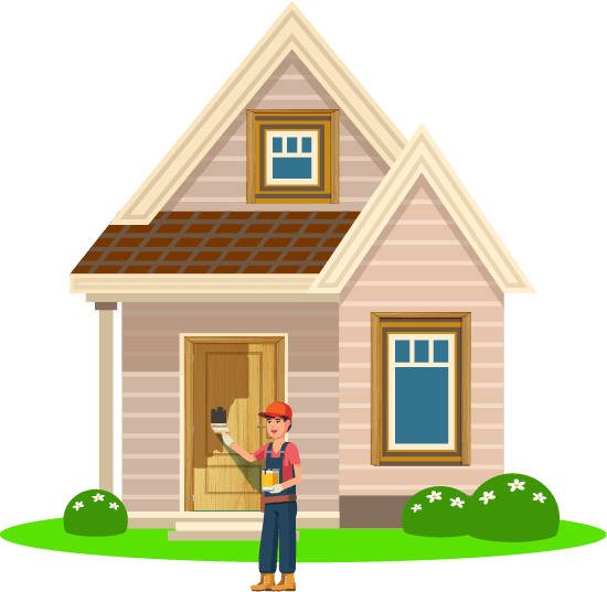 Roofing clipart house paint. Trusted home painting services