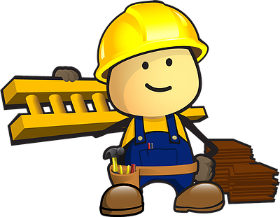 Roofing clipart man. Http thehappyroofcompany wix com