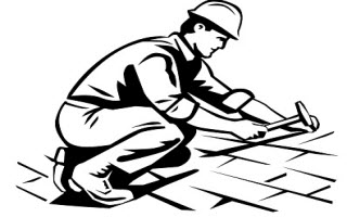 Roofing clipart school roof. Free roofer