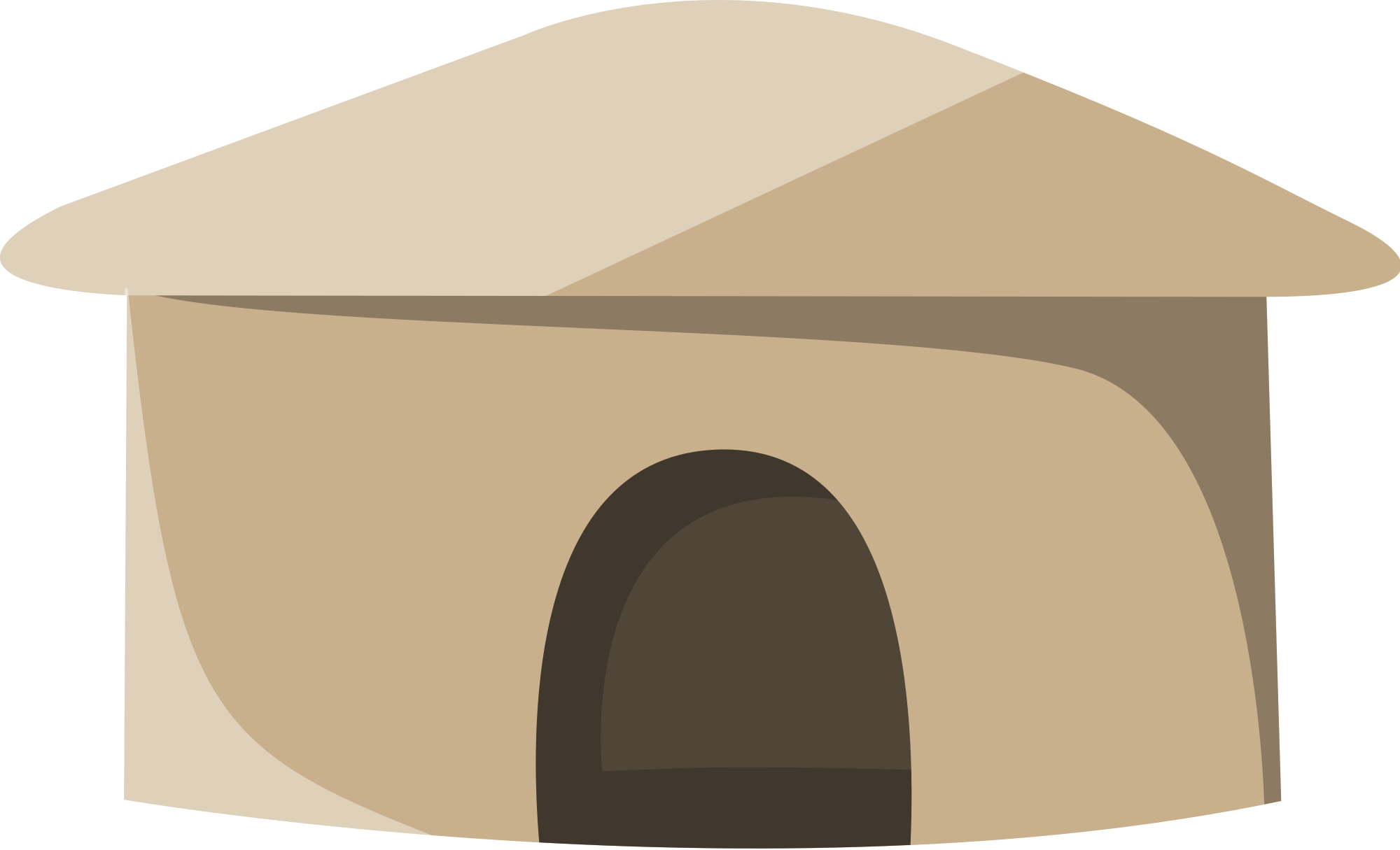 Roofing vector hut. File svg wikimedia commons
