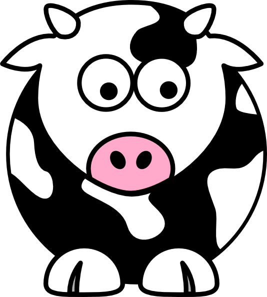 Rooftop vector animated. Cow clipart free on