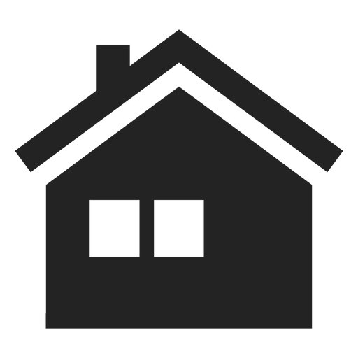 Rooftop vector home window. Two icon transparent png