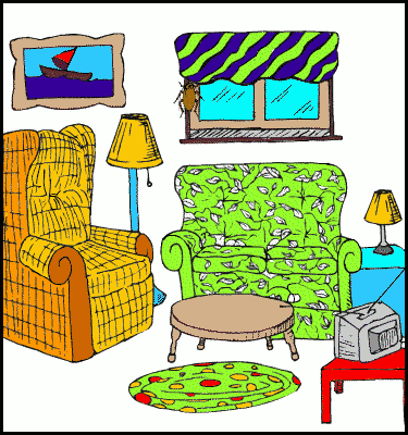 Room clip. Art emotions clipart panda