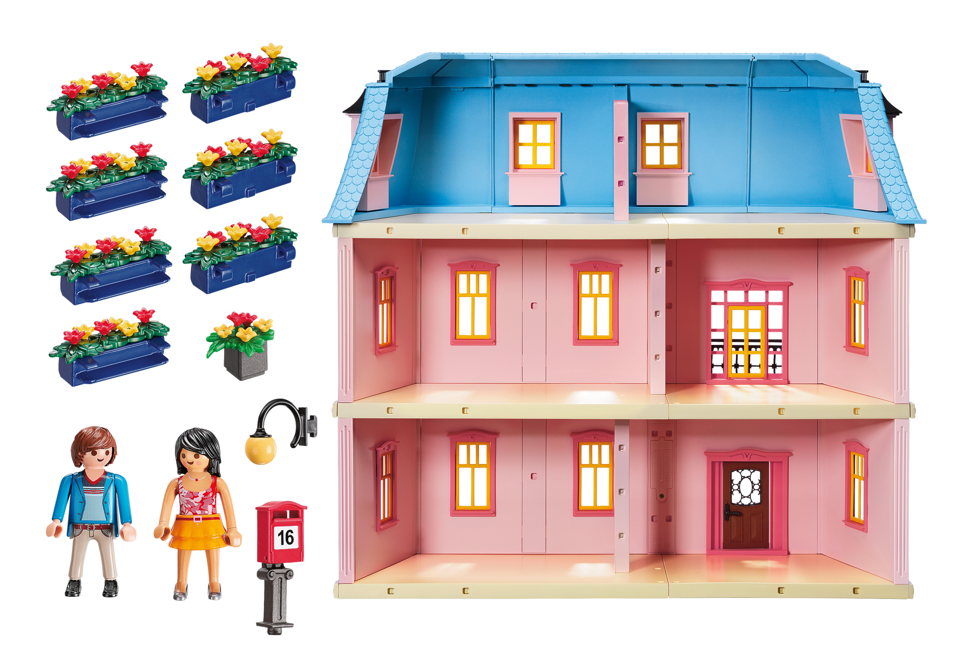 Room clipart dollhouse. Deluxe playmobil usa httpmediaplaymobilcomiplaymobilproductboxback