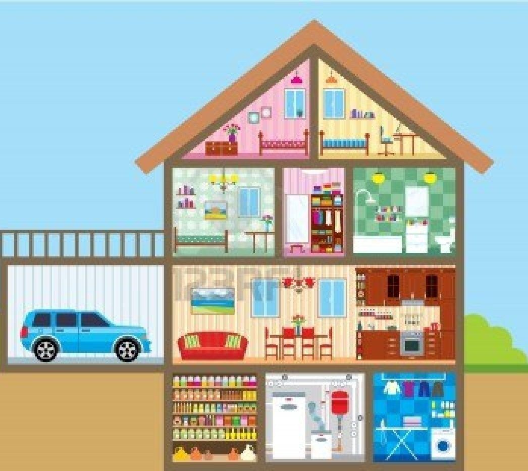 Room clipart dollhouse. Banish these household toxins