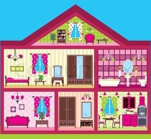 Room clipart dollhouse. Best illustrations images on