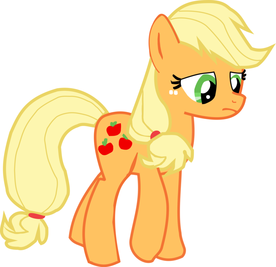 Room vector applejack. Sad v without hat