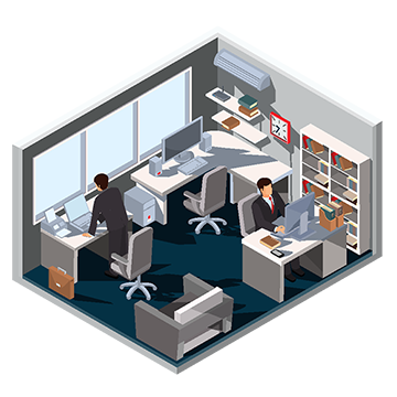 Office clipart office interior. Room png vectors psd