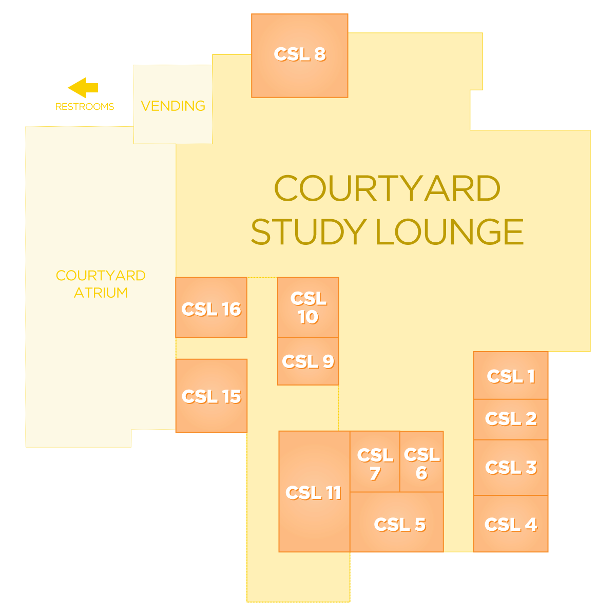 Room vector study. Book a online student