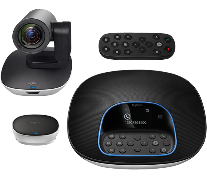 Room vector tv. Logitech group video conferencing