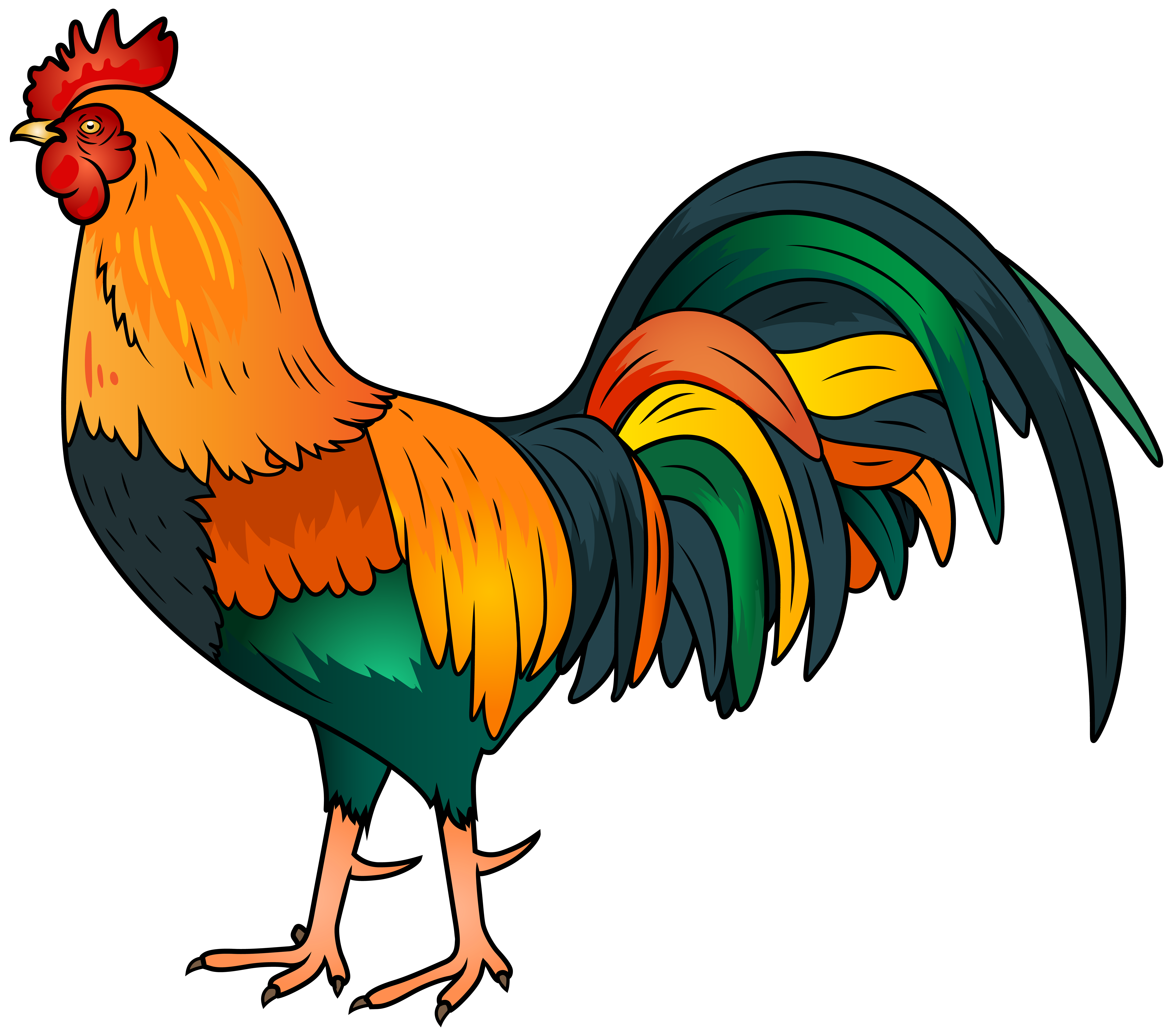 Png clip art image. Rooster clipart graphic royalty free library