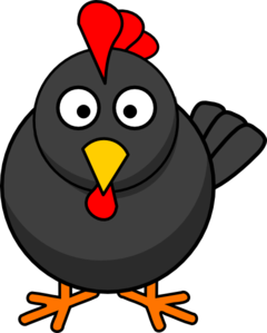 Rooster clipart. Cartoon clip art at