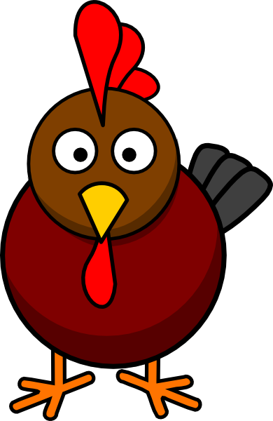 Rooster clipart buff. Cartoon clip art at