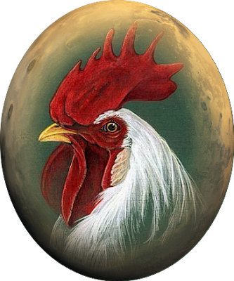 Rooster clipart buff.