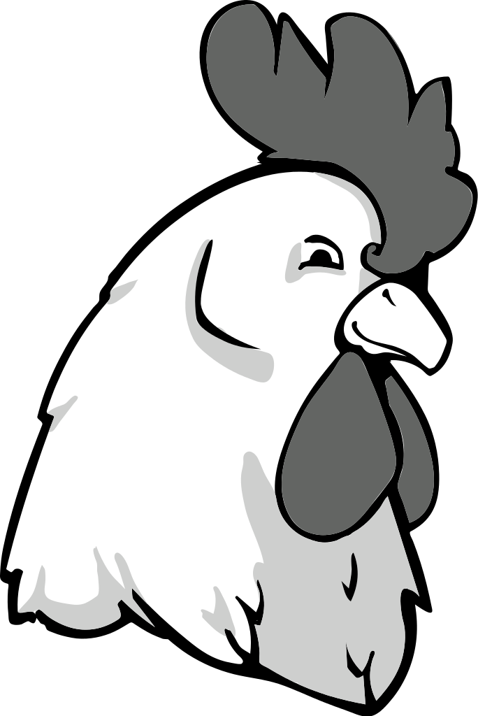 Rooster clipart face. Free drawings of roosters