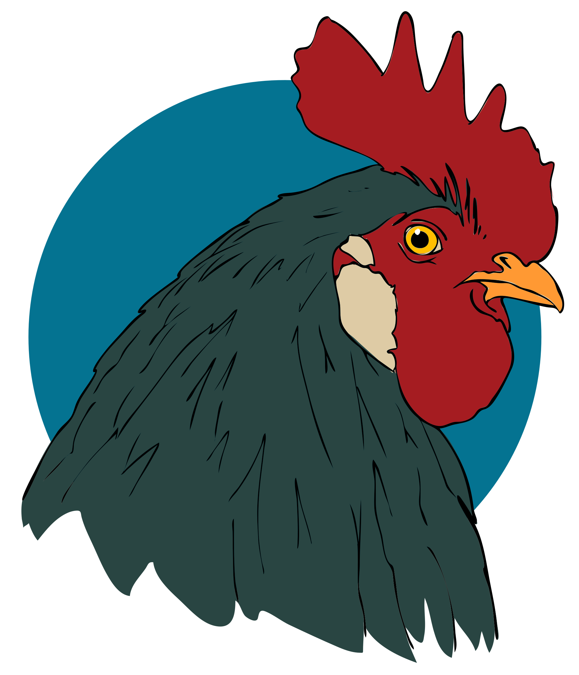 Rooster clipart svg. File closeup wikimedia commons