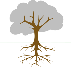 Roots clipart soil clipart. Free tree cliparts download