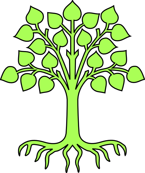 Roots clipart kid. Free family tree download