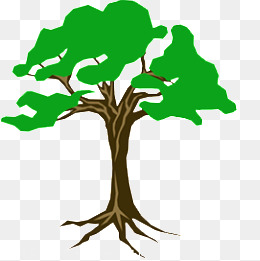 Roots clipart rooted tree. Png images vectors and