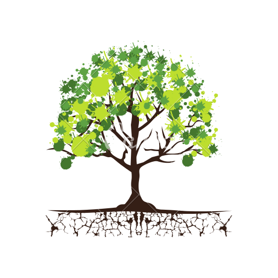 Roots clipart tree icon. Free trees download eco