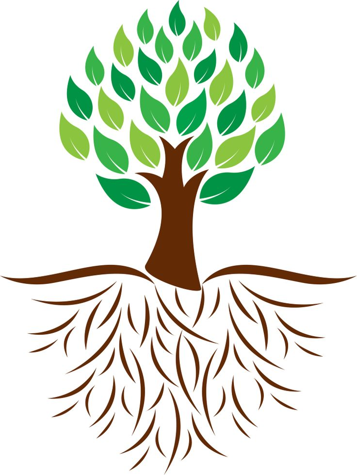 Roots clipart tree icon. Silhouette at getdrawings com