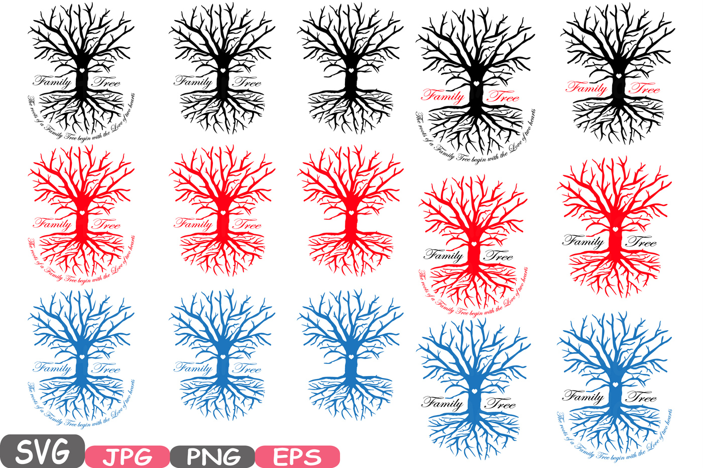 Roots clipart wit. Family tree svg word