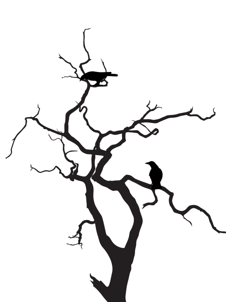 Roots silhouette png. Image creepy tree cliparts