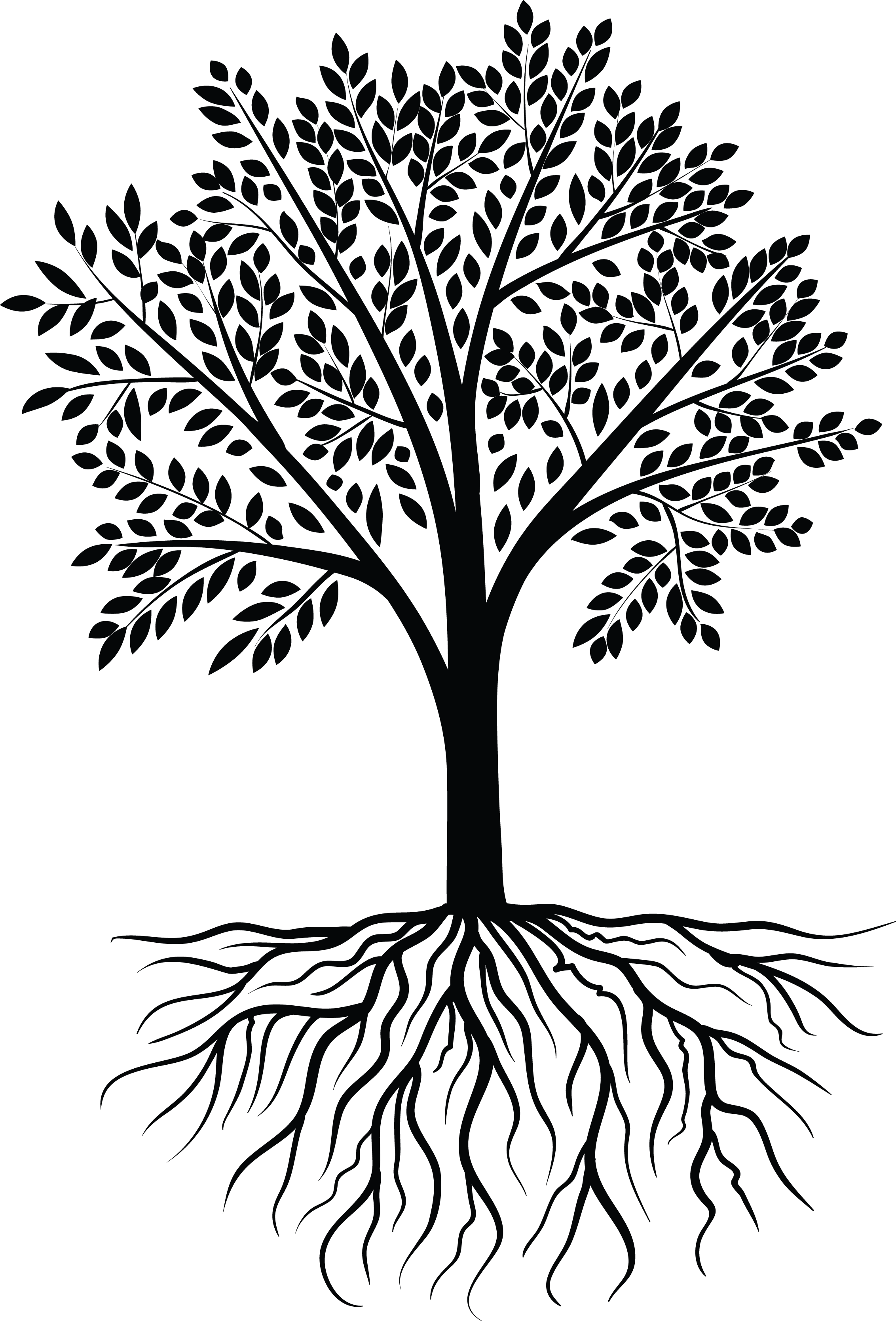 It vector black and white. Tree design pinterest scrapbooks