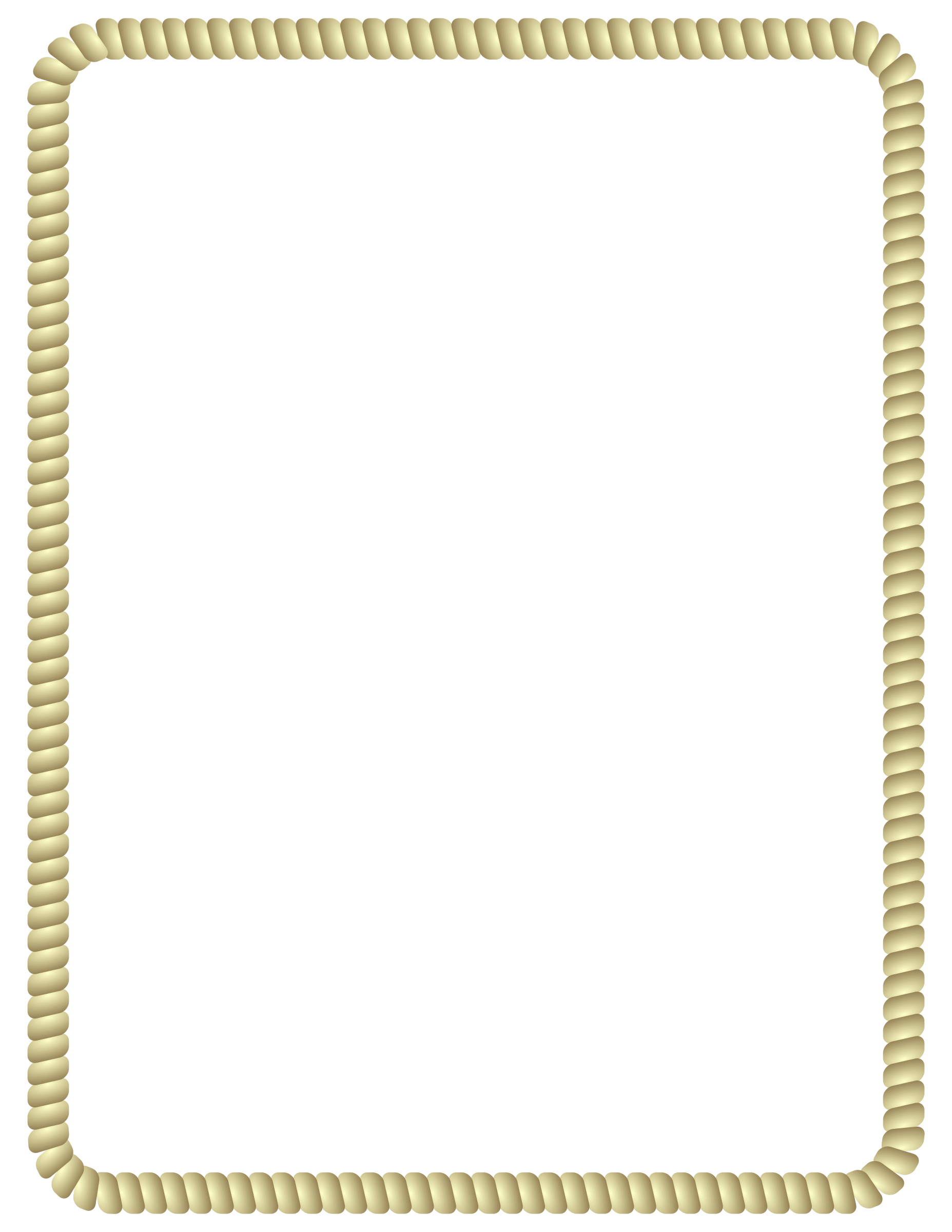 Rope border png. Collection of clipart