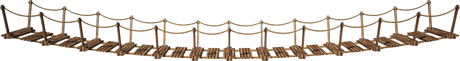 Rope clipart battle rope. Suspension bridge png transparent