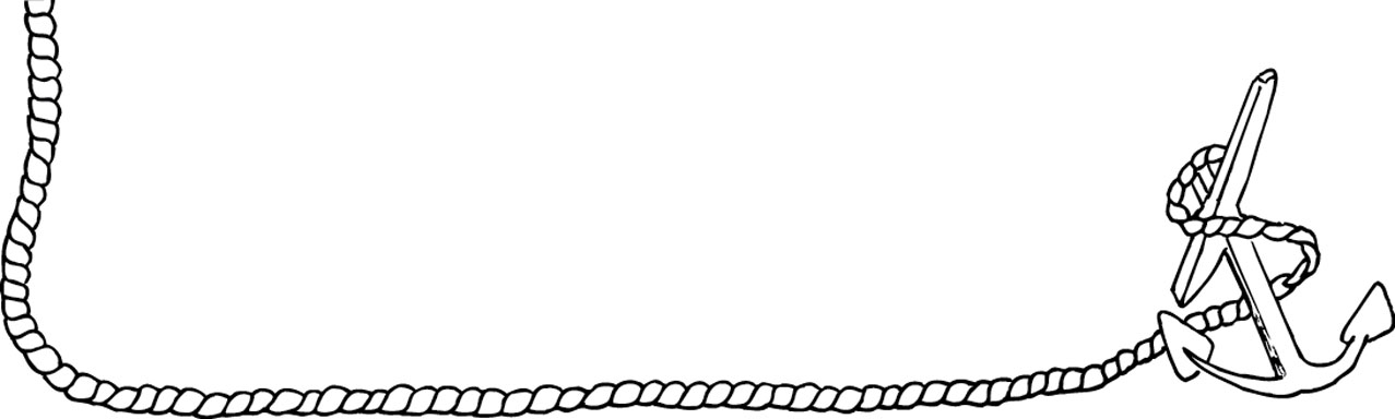 Rope clipart boarder. Boat