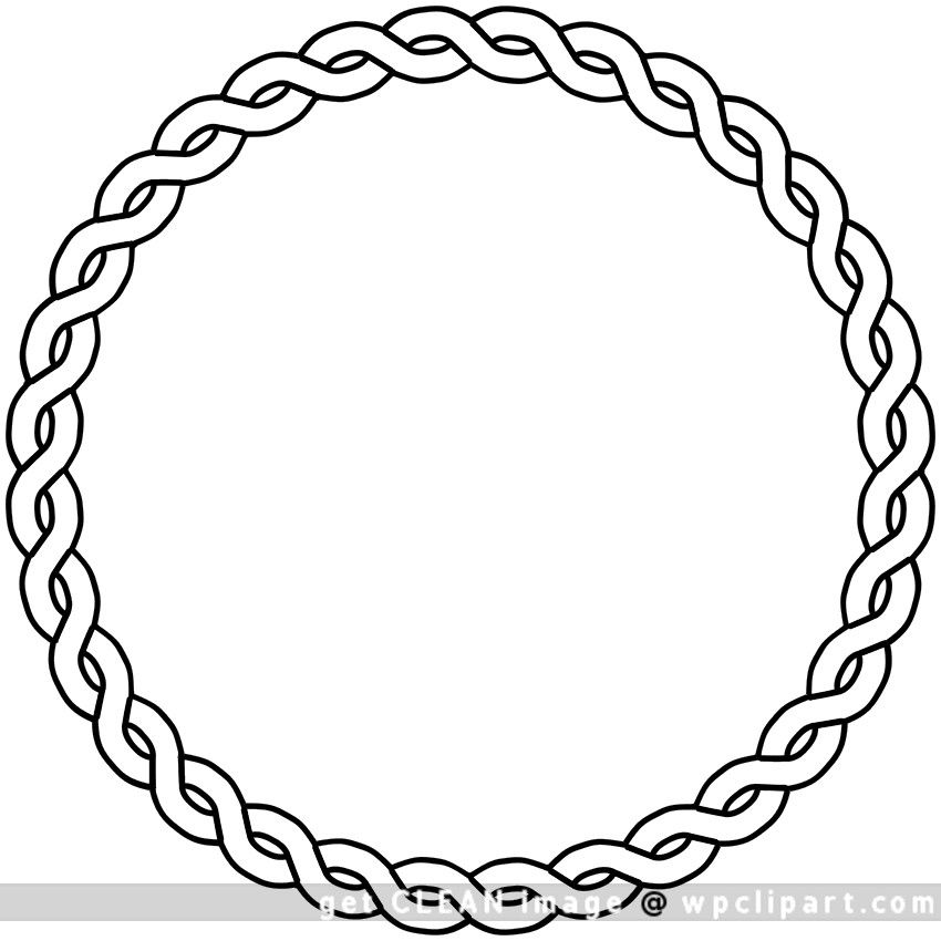 Rope clipart divider. Clip art vector and
