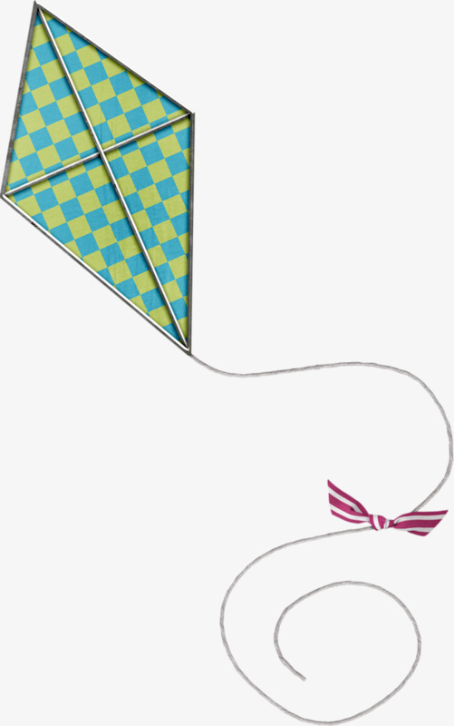 Rope clipart kite. Flying blue png image
