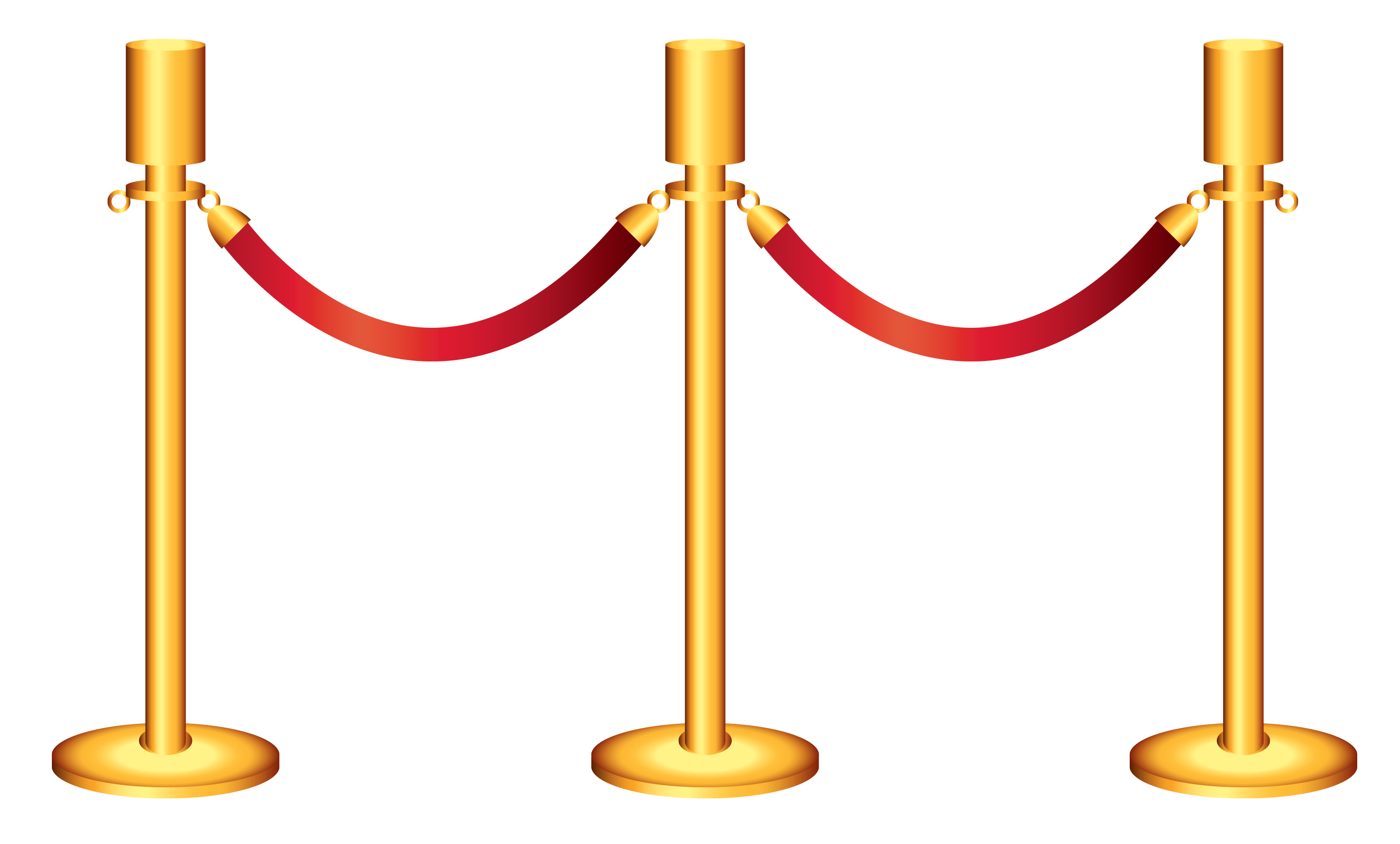Rope clipart png. Golden barricade transparent gallery