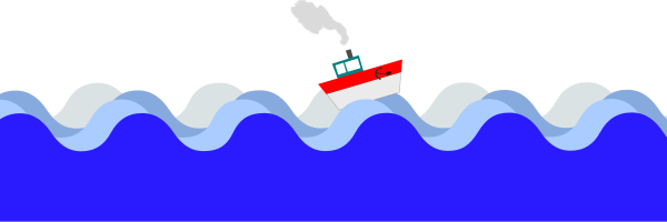 Rope clipart sea. Blue