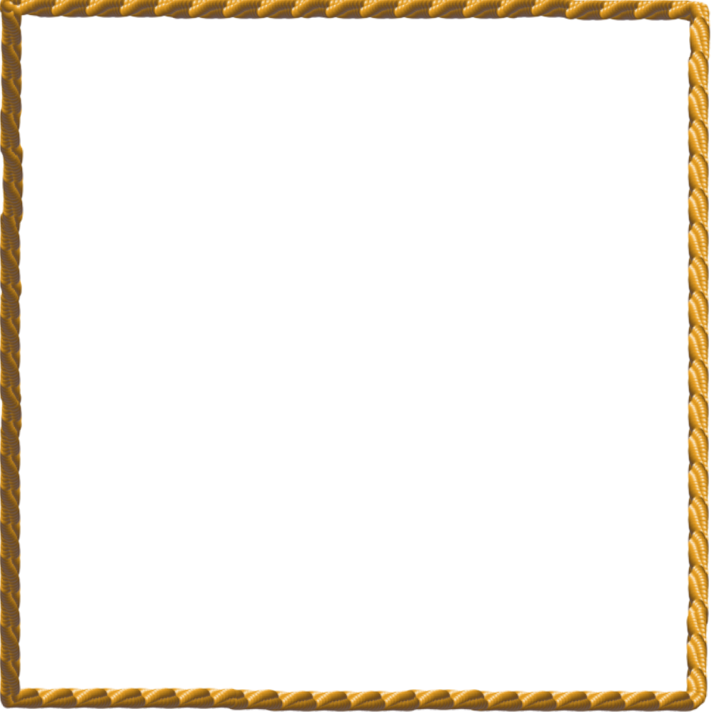 White borders png. Free rope border download