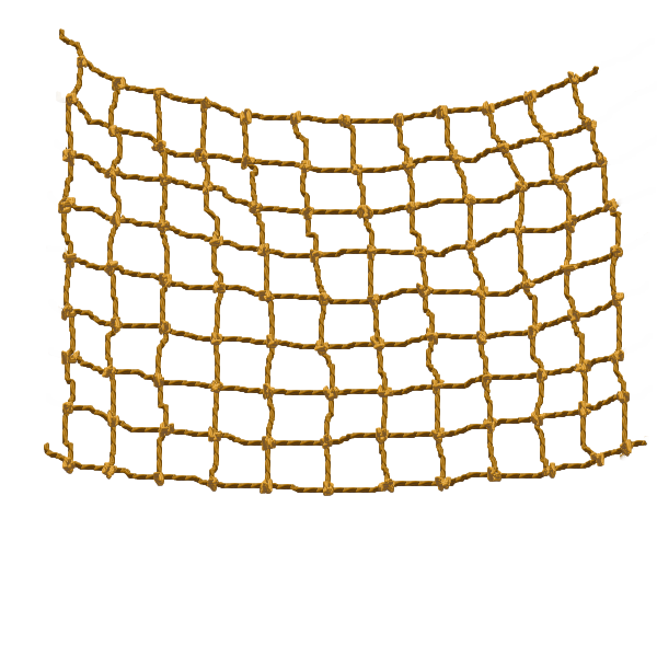 Netting vector rope net. Fishing nets cargo transprent
